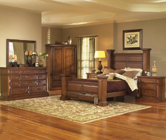 Beautiful 61657 Torreon King Bedroom   Pine · Progressive
