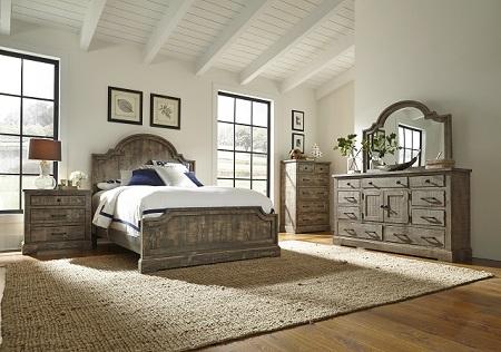 Rent Progressive Furniture Meadow Queen Bedroom Set | Bedroom ...