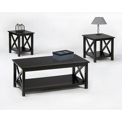 Progressive Furniture   Seascape II Black w/ Lift Top Cocktail