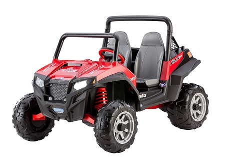 Peg Perego Polaris Ranger RZR 900 Red 12V ATV