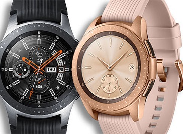 Samsung Galaxy Smartwatch (Available in Rose Gold or Black)