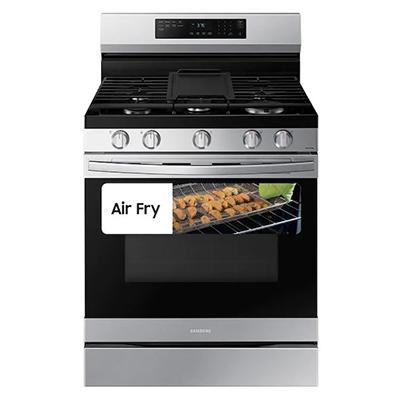 Samsung 6 CuFt Smart Gas Air Fry Range