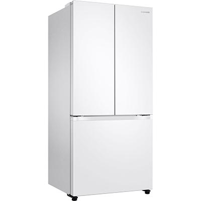 Samsung 18 CuFt French Door Refrigerator, White