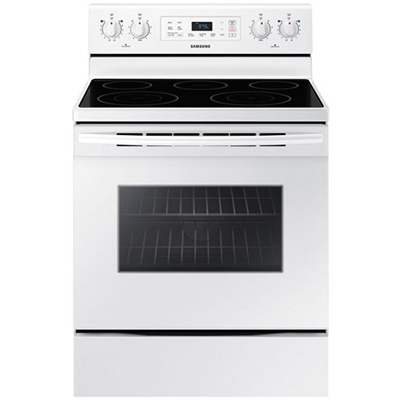 5.9 CuFt Electric Convection Range White