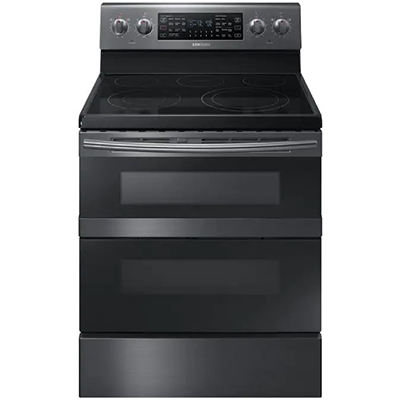 Samsung Electric Range Duo Oven Black SS