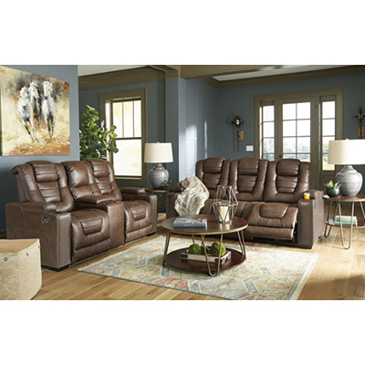 Owners Box Thyme Power Sofa & Loveseat
