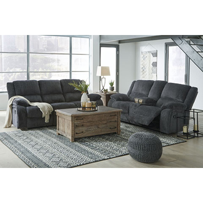 Draycoll Slate Motion Sofa & Loveseat
