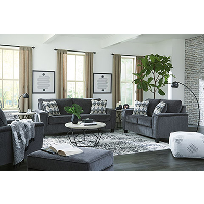 Signature Design Abinger Smoke Sofa & Loveseat