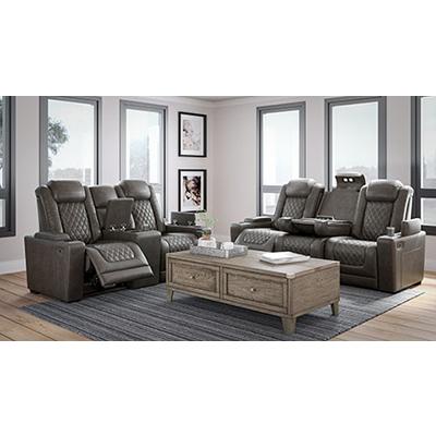 Signature Design Hyllmont Power Sofa & Loveseat