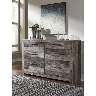 Signature Design Derekson Multi-Gray Dresser