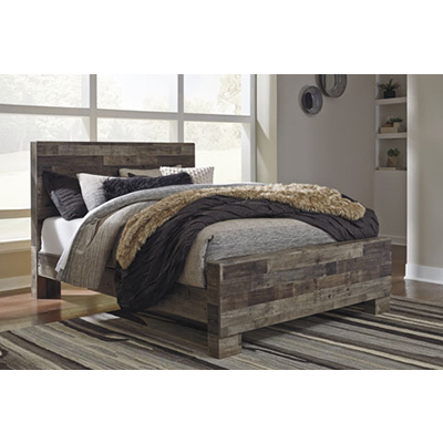 Signature Design Derekson Multi-Gray King Bed