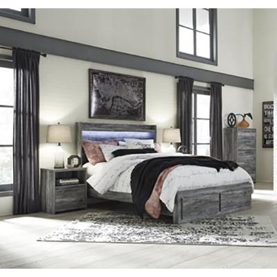 Signature Design Baystorm Gray Bedroom Set