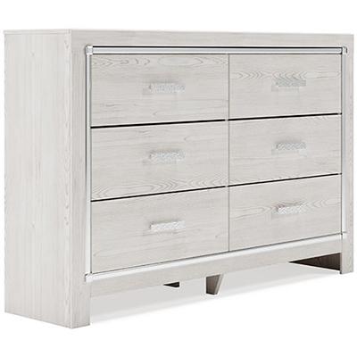 Signature Design Altrya White Dresser