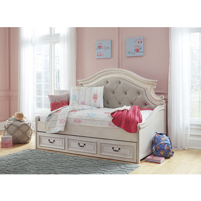 Realyn Daybed w/ Storage Trundle