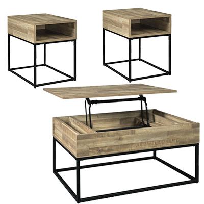 Gerdanet Lift 3-Pack Tables