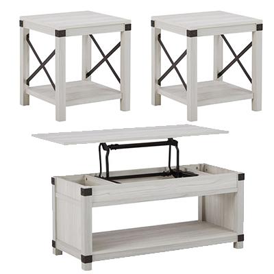 Signature Design Bayflynn Lift Cocktail Table, 2 Ends