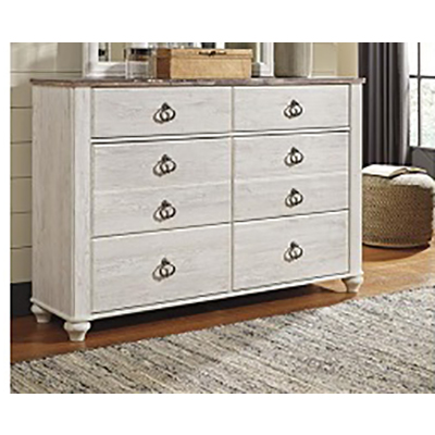Signature Design | Willowton Two-Tone Dresser Only