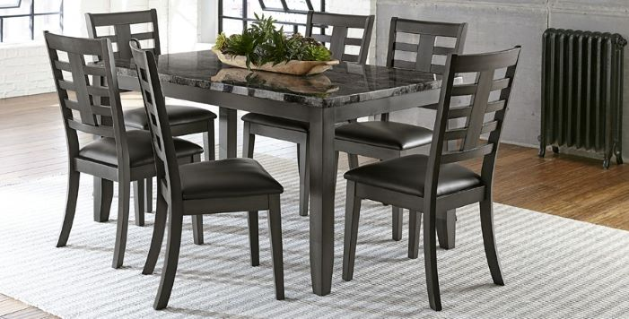 Canaan Dining Table & 6 Chairs