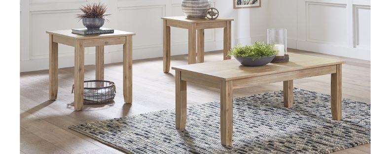 Langston Light 3Pk of Tables