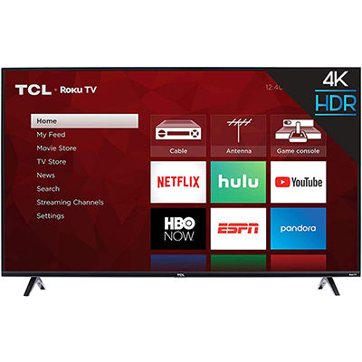 "43"" UHD 4K Roku Smart TV"