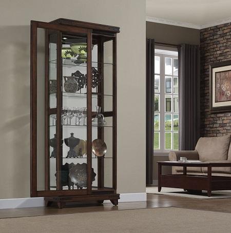 Rent Mayfield Curio | Curios Furniture Rental | RENT 2 OWN