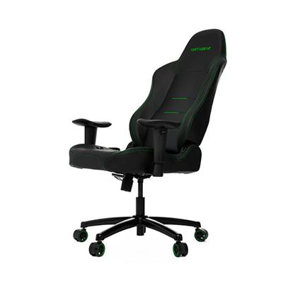 Vertagear Gaming Chair, Black & Green