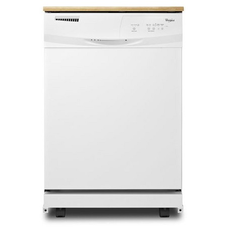 Whirlpool Convertible Portable Tall Tub Dishwasher - White