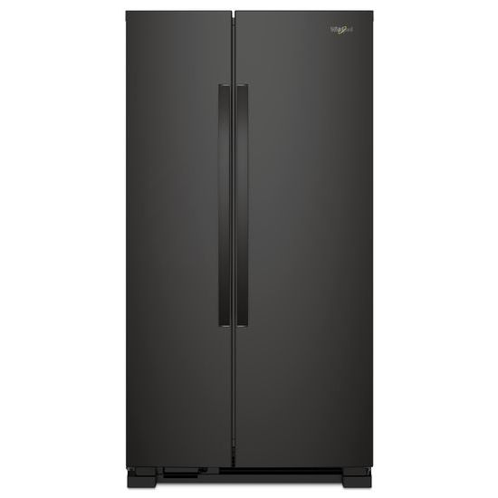 Whirlpool 33 in. W 21.2 cu. ft. Side by Side Refrigerator - Black