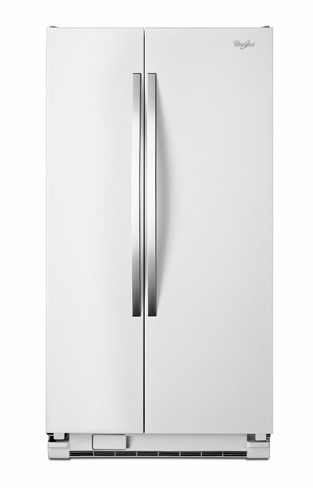 Side by Side Refrigerator   White Ice. Appliances Rental   RENT 2 OWN