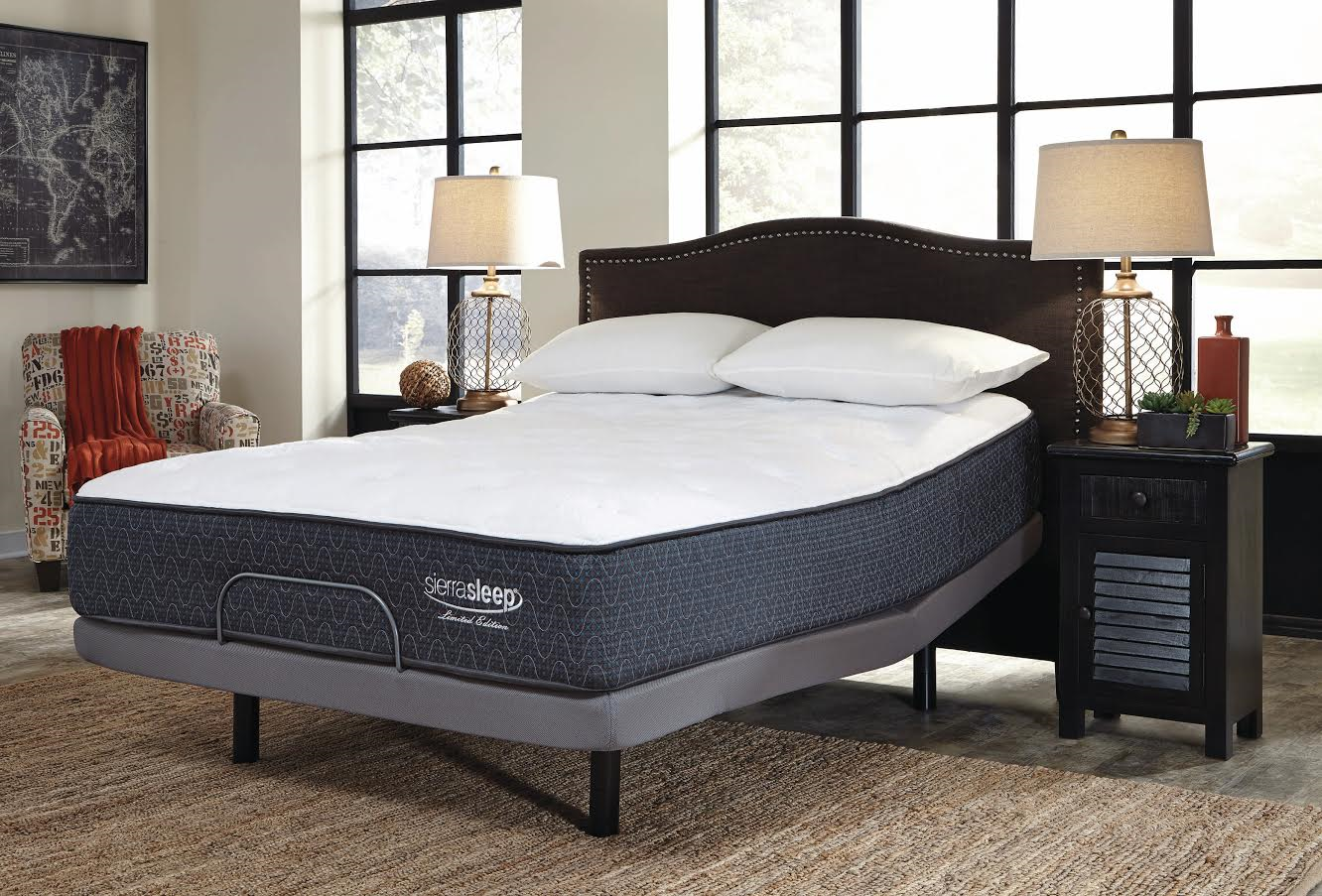 Where To Rent Adjustable Beds : Rent ashley adjustable bed with mattress may only