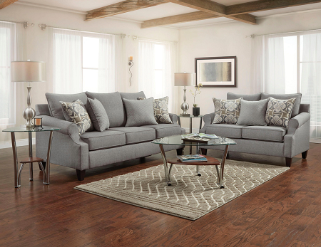Washington Bay Ridge Gray Sofa