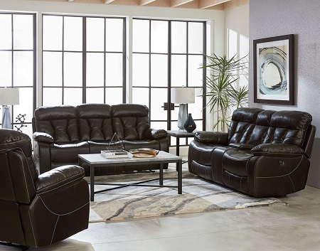 Standard Furniture Peoria Java Reclining Sofa