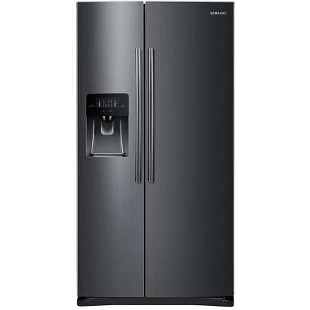 Samsung 25 cu. ft. Side by Side Refrigerator-Black Stainless