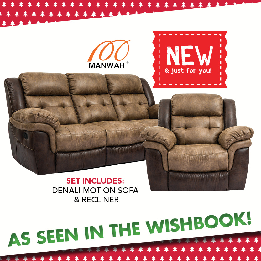 Denali Motion Sofa and Recliner. Living Room Rental   Rent To Own Furniture   RENT 2 OWN