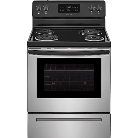 Frigidare 5.3 cu. ft. Electric Coil Top Range - Stainless Steel