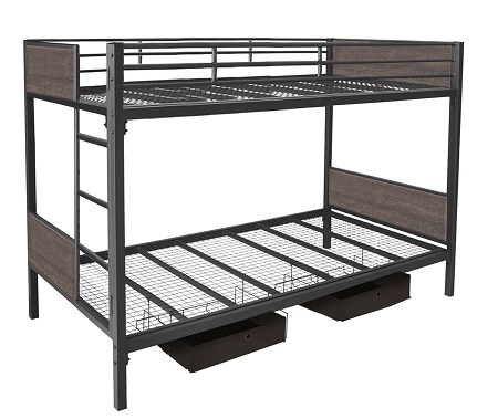 Rent Innovex Juno Twin Twin Bunkbed Bedroom Youth Furniture