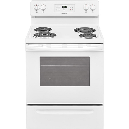 Frigidare 5.3 cu. ft. Electric Coil Top Range - White