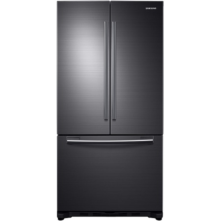Samsung 33 in. 18 cu. ft. French Door Refrigerator-Black Stainless