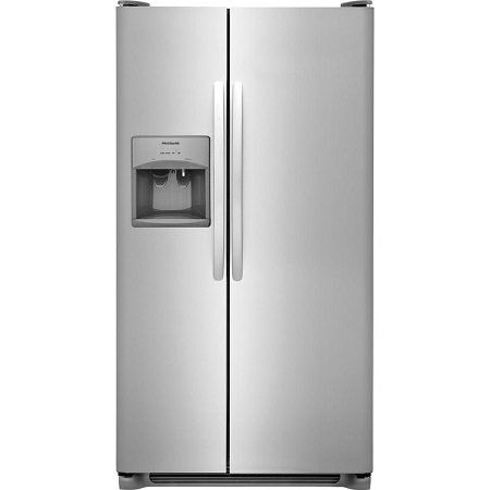 Frigidaire 22 cu. ft. Side by Side Refrigerator-Stainless Steel
