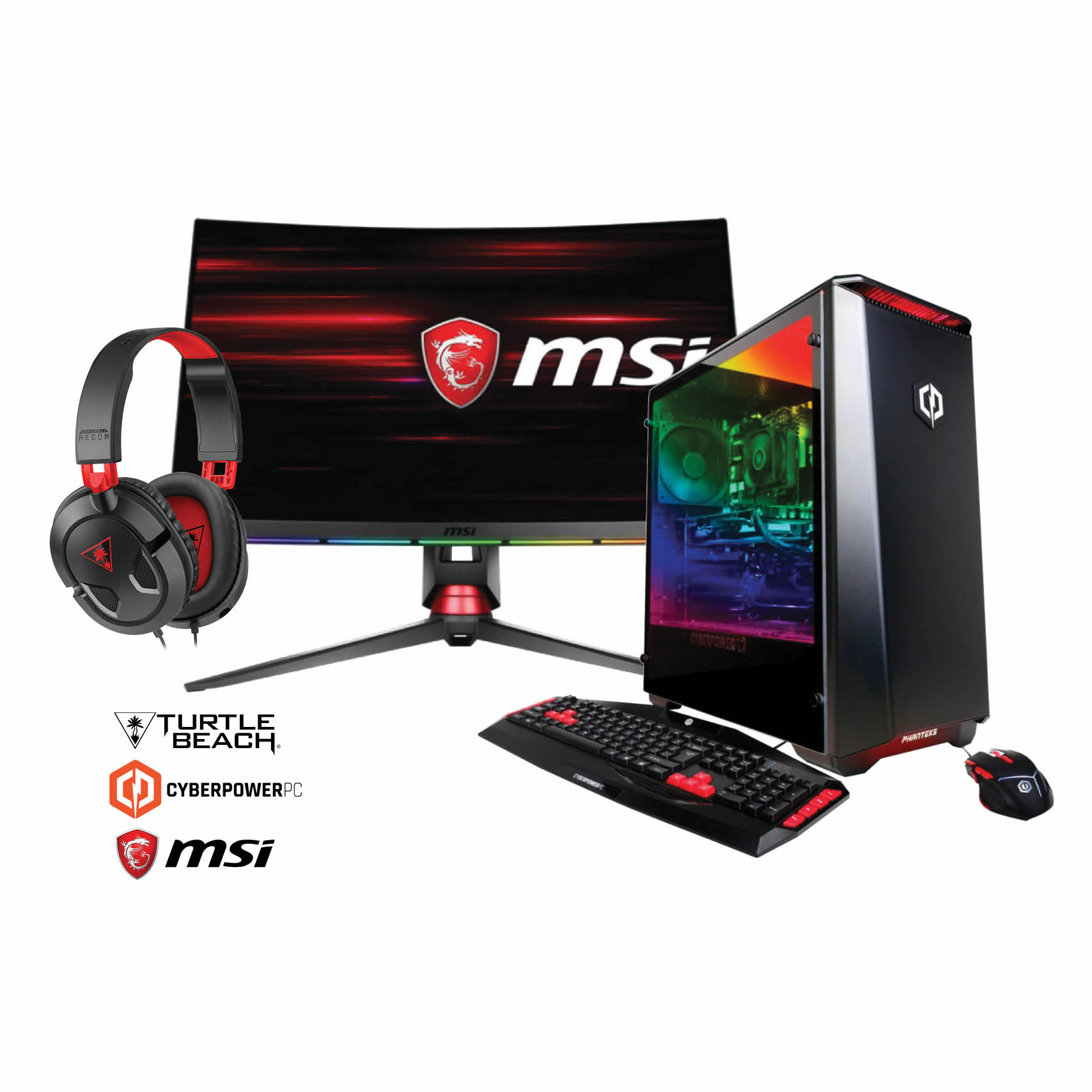 CyberPower Gaming Computer Bundle