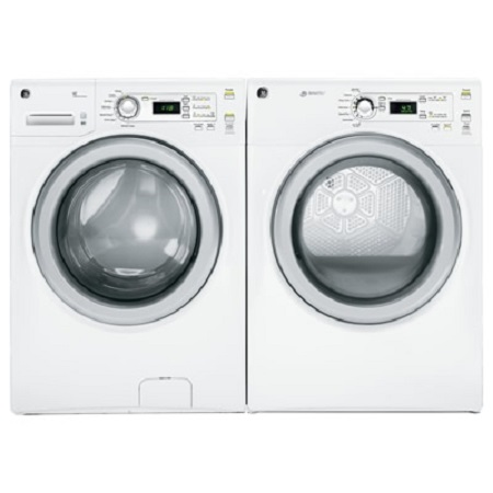Samsung Front Load Washer and Dryer-White
