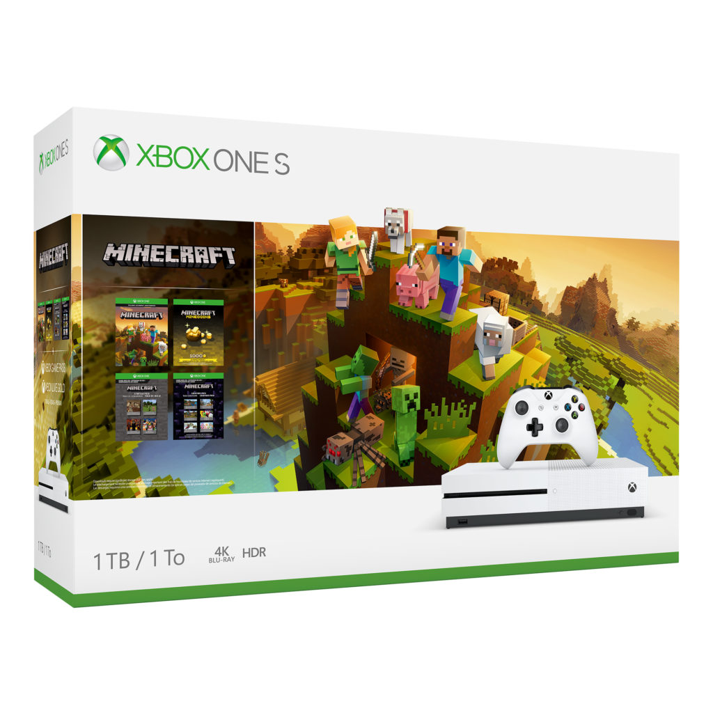 Rent Microsoft Xbox One S 1TB-Minecraft Bundle | Game