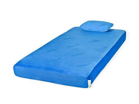 MEFR01211 Blueberry Twin Mattress w/ Pillow